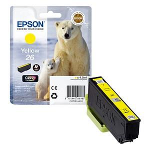 EPSON 26 / T2614 gelb Tintenpatrone
