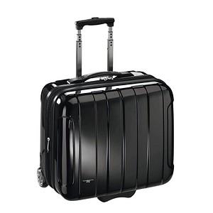 JSA Laptop-Trolley Kunststoff schwarz