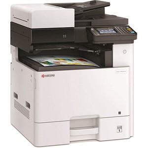 KYOCERA ECOSYS M8124cidn 3 in 1 Farblaser-Multifunktionsdrucker grau