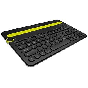Logitech Tablet-Tastatur Bluetooth Multi-Device Keyboard K480