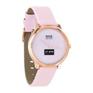 X-WATCH SOE XW PURE Smartwatch rosa, gold 54028