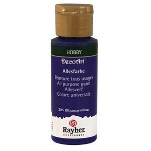 Rayher Allesfarbe Acrylfarben ultramarinblau 59,0 ml, 1 St. 38000385