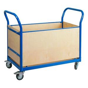SZ Metall Transportwagen blau 100,0 x 50,0 cm bis 250,0 kg