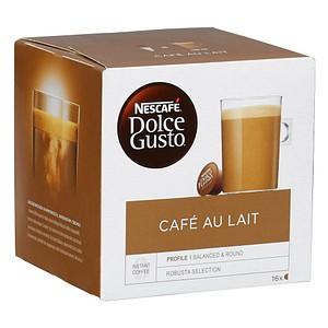 NESCAFÉ CAFÉ AU LAIT Kaffeekapseln 16 Portionen
