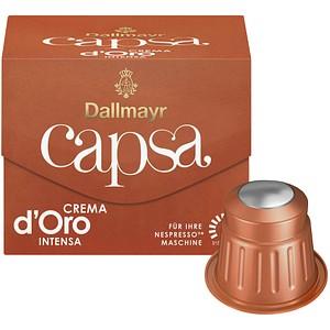 Dallmayr Kaffee Capsa Crema d'Oro Intensa Kaffeekapseln 10 Portionen