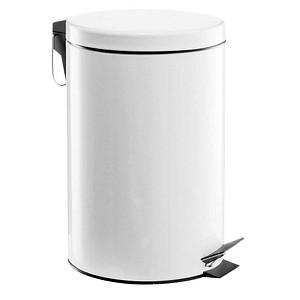 Zeller Mülleimer 12,0 l weiß