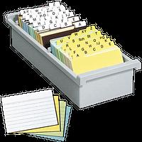 Karteikarten & -register