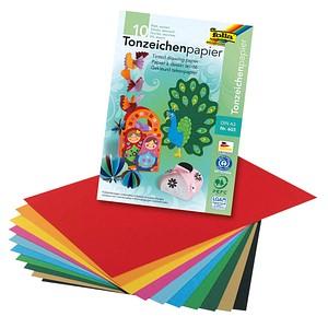 folia Tonpapier farbsortiert A3 130 g/qm