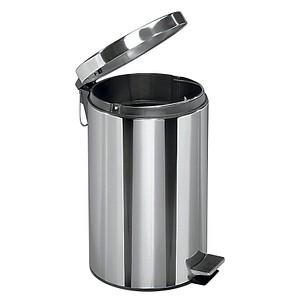 Zeller Mülleimer 5,0 l edelstahl