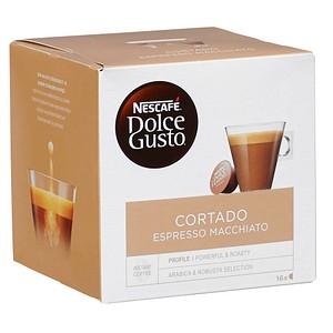 NESCAFÉ CORTADO ESPRESSO MACCHIATO Kaffeekapseln 16 Portionen