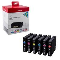 Tinte/ Tintenpatrone PGI-29 C/M/Y/PC/PM/R von Canon