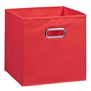 Zeller Aufbewahrungsbox 30,0 l rot 32,0 x 32,0 x 32,0 cm