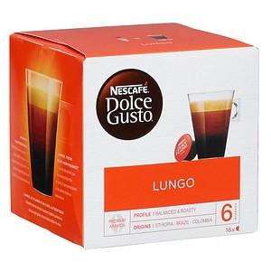 NESCAFÉ LUNGO Kaffeekapseln 16 Portionen