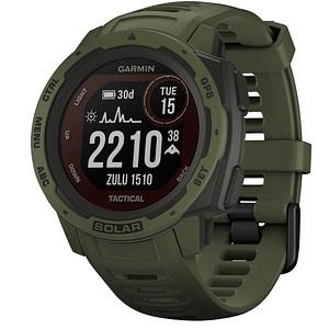 GARMIN Instinct Solar Tactical Smartwatch grün, schwarz 010-02293-04