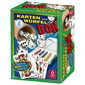 ASS ALTENBURGER KARTEN UND WÜRFEL BOX Spiele-Set