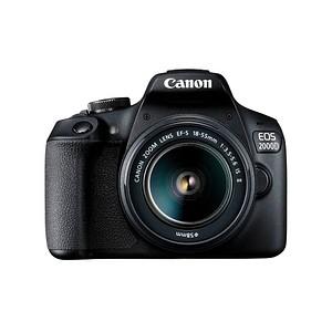 Canon EOS 2000D EF-S 18-55 mm Objektiv Digitale Spiegelreflexkamera 2728C003