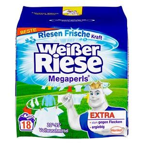Henkel Weißer Riese Megaperls Waschmittel 1,215 kg
