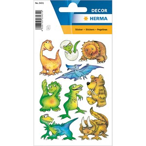 27 HERMA Aufkleber 3431 Dinos