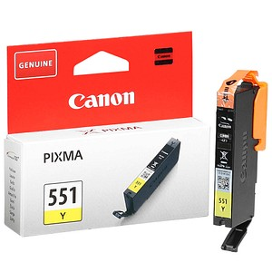 Canon CLI-551 Y gelb Tintenpatrone