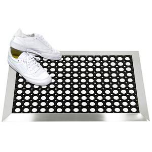 SZ Metall Fußmatte schwarz