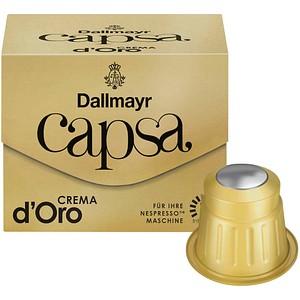 Dallmayr Kaffee Capsa Crema d'Oro Kaffeekapseln 10 Portionen