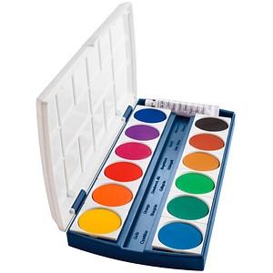 herlitz ST12 Wasserfarbkasten 12 Farben