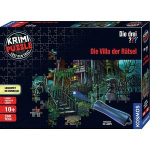 KOSMOS KRIMI-PUZZLE Die drei???- Die Villa der Rätsel Puzzle 300 Teile