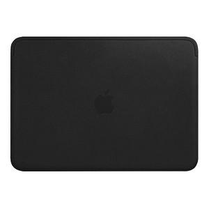 Apple Laptoptasche Lederhülle Leder schwarz MTEG2ZM/A