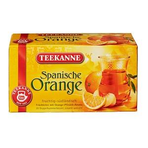TEEKANNE Spanische Orange Tee 20 Teebeutel à 2,5 g