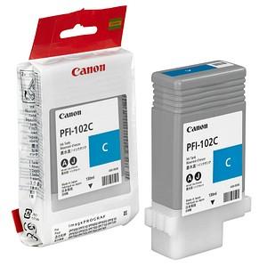 Canon PFI-102 C cyan Tintenpatrone