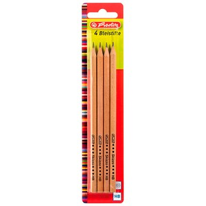 4 herlitz Skizzo Bleistifte HB