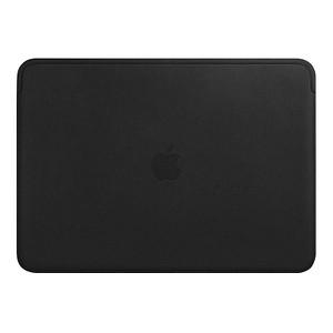 Apple Laptoptasche Lederhülle Leder schwarz MTEH2ZM/A