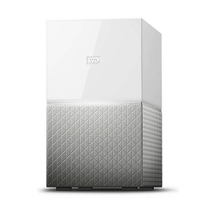 Western Digital MY CLOUD HOME DUO 12 (2x6) TB Netzwerkfestplatte WDBMUT0120JWT-EESN