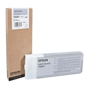 EPSON T6067 light schwarz Tintenpatrone