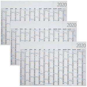 3 BRUNNEN Jahresplaner gefalzt 2020