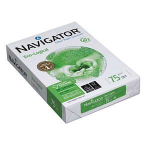 NAVIGATOR Kopierpapier Eco-Logical 75 g/qm 500 Blatt