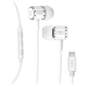 sbs In-Ear-Kopfhörer weiß TEINEARLIGHTW
