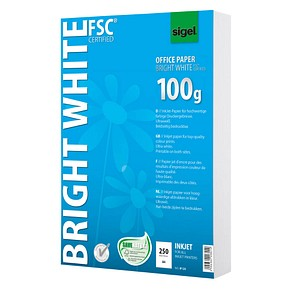SIGEL Inkjetpapier InkJet-Papier 100 g/qm 250 Blatt IP125