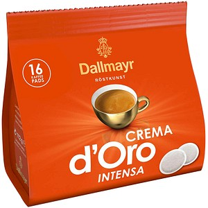 Dallmayr Kaffee Crema d'Oro INTENSA Kaffeepads 16 Pads