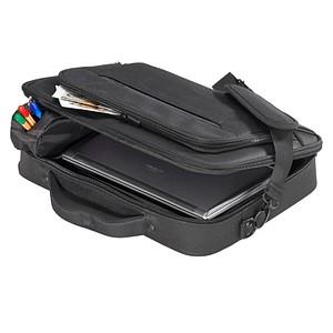hama Laptoptasche Miami Kunstfaser schwarz