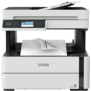 EPSON EcoTank ET-M3140 4 in 1 Tintenstrahl-Multifunktionsdrucker grau