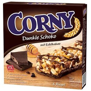 CORNY Dunkle Schoko Müsliriegel 6 Riegel