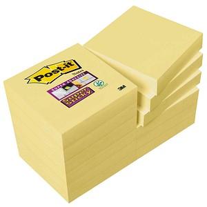 Post-it® Super Sticky Haftnotizen extrastark 62212SY gelb 12 Blöcke