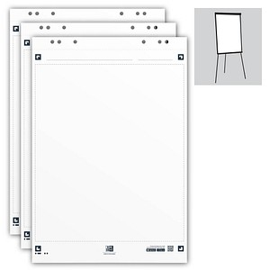 OXFORD Flipchart-Papier Smart Chart blanko