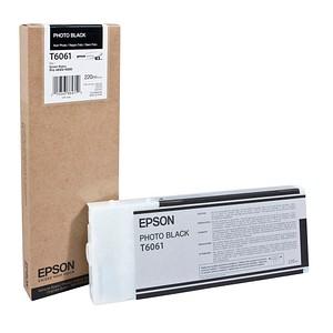 EPSON T6061 Foto schwarz Tintenpatrone