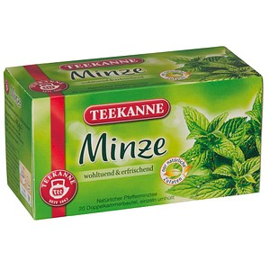 TEEKANNE Minze Tee 20 Teebeutel à 2,25 g