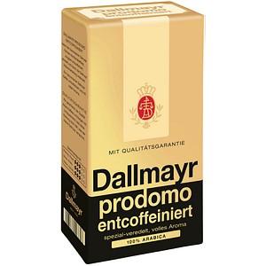 Dallmayr Kaffee prodomo entcoffeiniert Kaffee, gemahlen 500,0 g