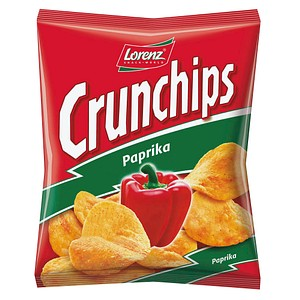 Crunchips Paprika Chips 20x 25,0 g