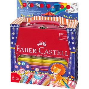 FABER-CASTELL Colour GRIP Malset farbsortiert