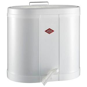 WESCO Mülltrenner 2x 15,0 l weiß